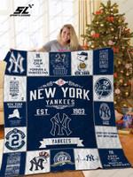New York Yankees Quilt Blanket
