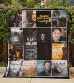 Blake Shelton Quilt Blanket