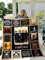 Tombstone Quilt Blanket 01