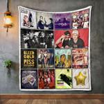 Cherub Album Covers Quilt Blanket