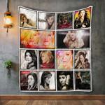 Kelly Clarkson Album Covers Quilt Blanket