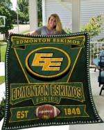 Edmonton Eskimos Quilt Blanket