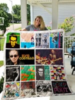 Elvis Costello Albums Quilt Blanket For Fans Ver 14