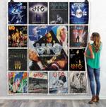 Ufo Live Albums Quilt Blanket 02