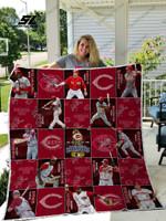 Mlb – Cincinnati Reds 25 Custom Quilt Blanket
