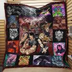 Metalocalypse Collage Quilt Blanket