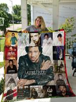 Lionel Richie Albums Cover Poster Quilt Blanket