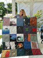 Keith Jarrett Albums Quilt Blanket For Fans Ver 25