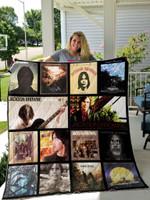 Jackson Browne Best Album Quilt Blanket 01