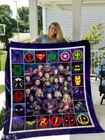 Avengers Quilt Blanket