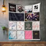 Bts Album Covers Quilt Blanket