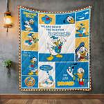Donald Duck Quilt Blanket