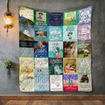 Lucy Maud Montgomery Books Quilt Blanket