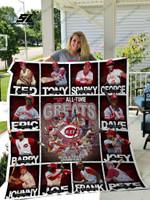 Mlb – Cincinnati Reds Quilt Blanket 02