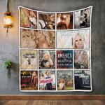 Miranda Lambert Album Covers Quilt Blanket