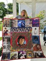 Donovan  Albums Quilt Blanket For Fans Ver 17