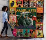 Major Lazer Albums Cover Poster Quilt Blanket