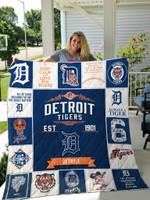 Mlb – Detroit Tigers Quilt Blanket