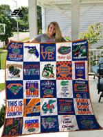 Florida Gators Quilt Blanket 02