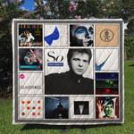 Peter Gabriel Quilt Blanket For Fans