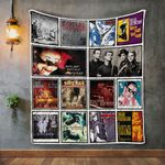 Social Distortion Album Covers Quilt Blanket