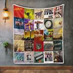 Los Lobos Album Covers Quilt Blanket