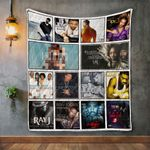 Ray J Album Covers Quilt Blanket