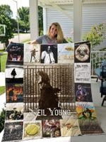 Neil Young Quilt Blanket For Fans Ver 17-2