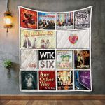 We The Kings Album Covers Quilt Blanket