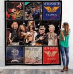 Aerosmith Live Albums Quilt Blanket