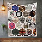 Led Zeppelin Album Covers Quilt Blanket