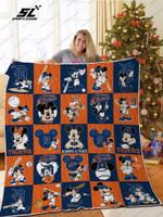 H – Detroit Tigers Dn Quilt Blanket