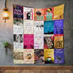 Alice Walker Books Quilt Blanket