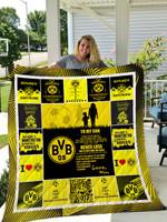 Borussia Dortmund – To My Son – Love Mom Quilt Blanket
