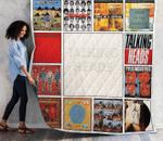 Talking Heads Albums Quilt Blanket 02