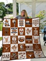 Texas Longhorns Quilt Blanket 02