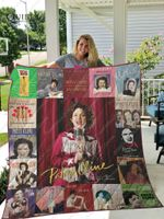 Patsy Cline Music Quilt Blanket All Season Plus Size Quilt Blanket