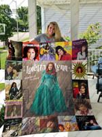 Loretta Lynn Quilt Blanket 01