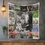 The Turtles Album Covers Quilt Blanket