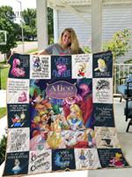 Alice In Wonderland Quilt Blanket For Fans Ver 17