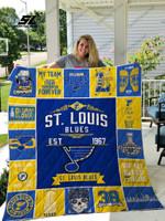 Nhl – St. Louis Blues Quilt Blanket