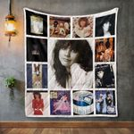 Linda Ronstadt Album Covers Quilt Blanket