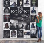 The Exorcist Poster Quilt Blanket