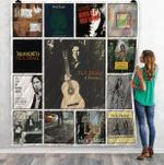 Nick Drake Compilations Albums Quilt Blanket 01