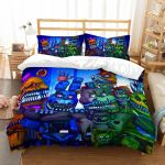 3d Customize The Five Nights At Freddy's Et Bedroomet Bed 3d Customize Bedding Set