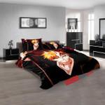 Cartoon Movies Bleach V 3d Customized Duvet Cover Bedroom Sets Bedding Sets
