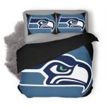 NFL Seattle Seahawks Logo 3D Printed Duvet Cover Bedding Set