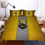 Harry Potter Hufflepuff Campus Badge Duvet Cover Bedding Set