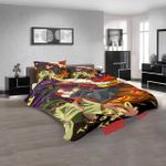 Anime One Outs D 3D Duvet Cover Bedding Set