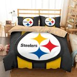 Pittsburgh Steelers Customize Duvet Cover Bedding Set